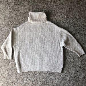 Zara Knit Heavy Turtleneck Sweater
